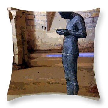 Winchester Crypt Throw Pillow