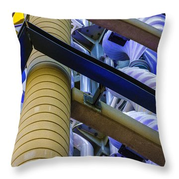 Wind Abstract No.1 Throw Pillow
