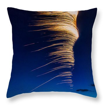 Wind As Light Throw Pillow