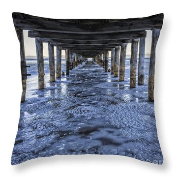 Throw Pillow featuring the photograph Wind Chill by Mitch Shindelbower
