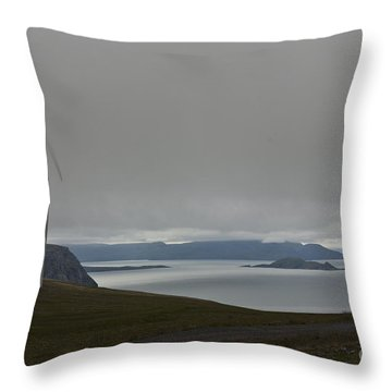 Wind Energy Throw Pillow by Heiko Koehrer-Wagner