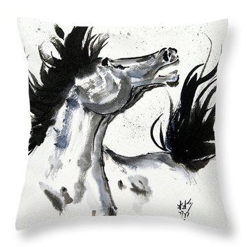 Wind Fire Throw Pillow