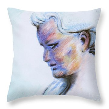 Wind Mother Throw Pillow