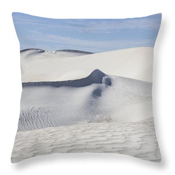 Wind Patterns Throw Pillow