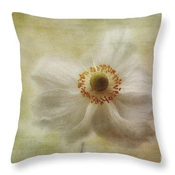 Windblown Throw Pillow by John Edwards