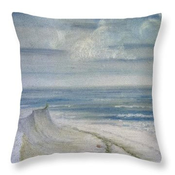 Windblown Throw Pillow