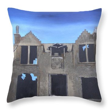 'windhouse' Throw Pillow