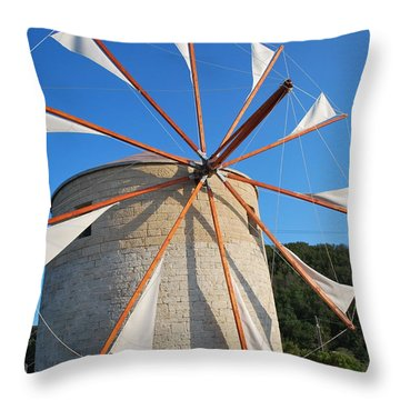 Windmill  2 Throw Pillow
