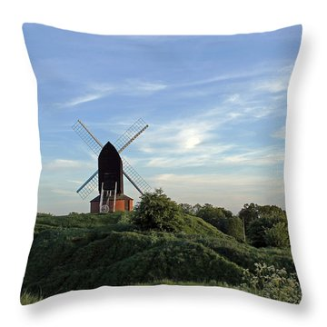 Windmill On Brill Common Throw Pillow