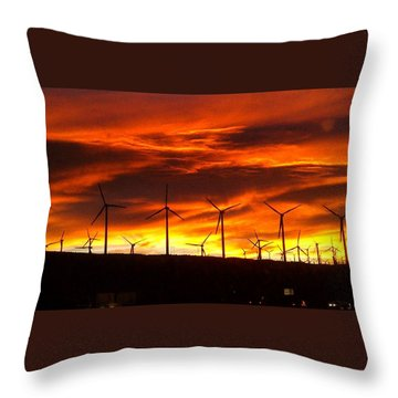 Throw Pillow featuring the photograph Shades Of Light  by Chris Tarpening