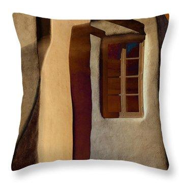 Window De Santa Fe Throw Pillow
