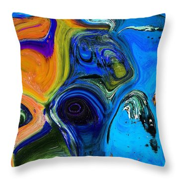 Window Dressing Throw Pillow by Everette McMahan jr
