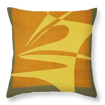 Window Dressing Throw Pillow by Richard Rizzo
