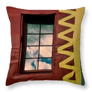 Window Into Lucy Throw Pillow