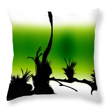 Window Throw Pillow by Len YewHeng