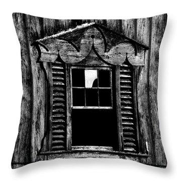 Window Pane Throw Pillow by Robert Geary