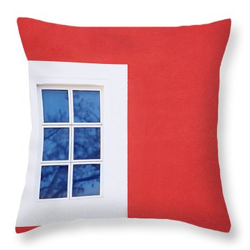 Window Piece Throw Pillow