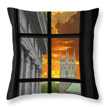 Window Series 03 Throw Pillow
