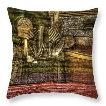 Window Shopping Throw Pillow by Mary Timman
