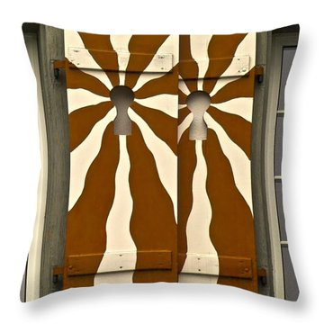 Architectonics Throw Pillows