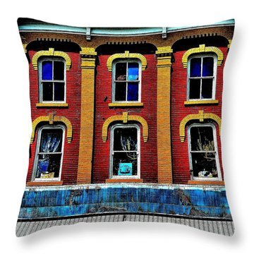 Window Stages - Canada Throw Pillow