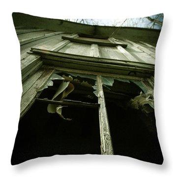 Window Tales Throw Pillow