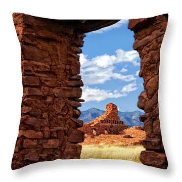 Window To Abo Throw Pillow
