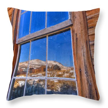 Window To Bodie Throw Pillow