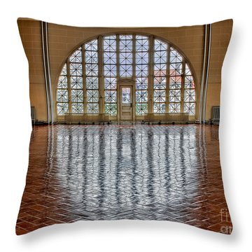 Window To Freedom Throw Pillow by Susan Candelario