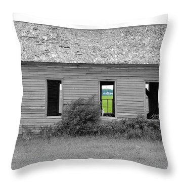 Window To The Future Throw Pillow by Bonfire Photography