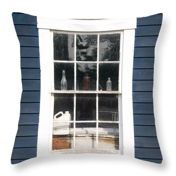 Window To The Past Throw Pillow by Ernest Puglisi