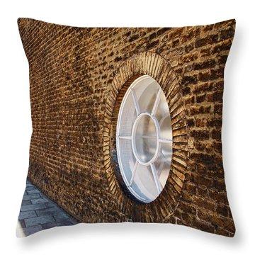 Window Wall Throw Pillow by Nicky Jameson