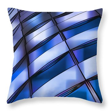 Windows In The Sky Throw Pillow