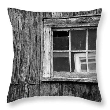 Windows In The Window Throw Pillow by Jeff Burton