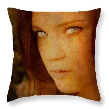 Windows To The Soul Throw Pillow by Loriental Photography