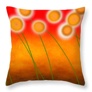 Throw Pillow featuring the photograph Windswept by Lisa Knechtel
