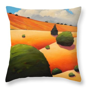 Windy Hill Revisit Panel Two Throw Pillow