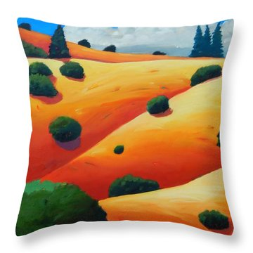 Windy Hill Trip Panel 2 Throw Pillow