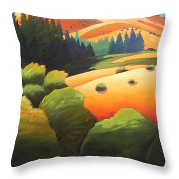 Windy Hill Trip. Revisit Panel One Throw Pillow