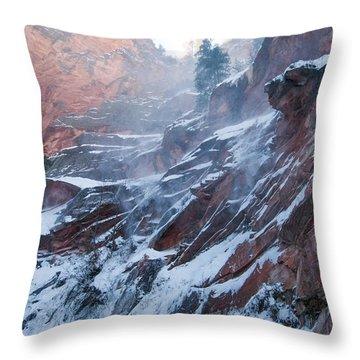 West Fork Windy Winter Throw Pillow