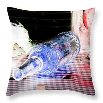 Wine Country - Photopower 01 Throw Pillow by Pamela Critchlow