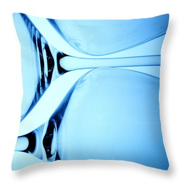 Wine Glasses 5 Throw Pillow