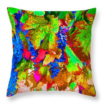 Throw Pillow featuring the photograph Wine In Time by David Lawson