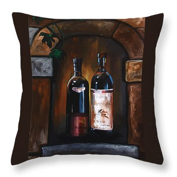 I Need A Glass Of Wine Throw Pillow