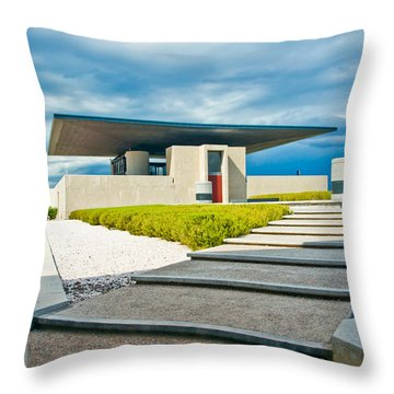Winery Modernism Throw Pillow
