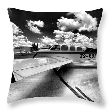 Wing Art Throw Pillow by Paul Job