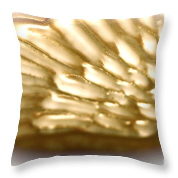 Winged Truth  Throw Pillow by Cathy Dee Janes