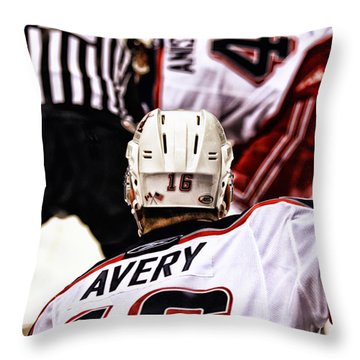 Winger Throw Pillow by Karol Livote