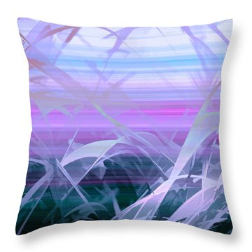 Wings Throw Pillow by Holly Kempe