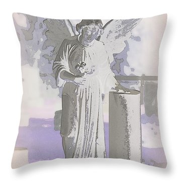 Wings On A Prayer Throw Pillow